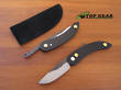 Svord Peasant Pocket Knife with Anodized Aluminium Handle - Black