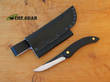 Svord Puukko Knife Fixed Blade Knife, Black - KPUKP