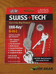 Swiss+Tech Utili-Key 6-In-1 Key Ring Tool Set - ST56005