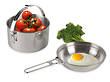 Tatonka Stainless Steel 1.6L Kettle (Billy) with Pan - 4002