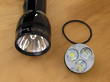 Terralux LED Upgrade for Maglite 4-6 D Cell Torch - 1000 Lumen - Ministar 30M-EX TLE-300M-EX