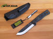 Tops B.O.B. Brothers of Bushcraft Survival Knife. Micarta Green - TPBROSGB