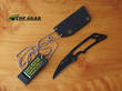 Tops Cuma Hiss Neck Knife - HISS-01