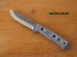 Tops B.O.B. Brothers of Bushcraft Hunter Knife, 154CM Stainless Steel, Tumble Finish - BROS TBF BLM