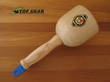 Kirschen - Two Cherries Hornbeam Wood Carving Mallet, 520 grams - 3500-100