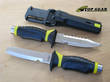 Underwater Kinetics Blue Tang Hydralloy Dive Knife - Blunt or Pointed Tip
