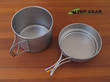 Vargo Titanium TI-Boiler Pot/Mug and Pan - 00418