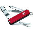 Victorinox Classic Nail Clip 580 Swiss Army Knife, Red - 0.6463