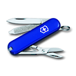 Victorinox Classic SD Swiss Army Keyring Knife, Blue - 0.6223.2
