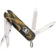 Victorinox Classic SD Swiss Army Keyring Knife, Shadow Grass Camo - 53490