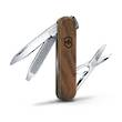 Victorinox Classic SD Wood (Walnut)  Swiss Army Keyring Knife - 0.6221.63