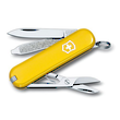 Victorinox Classic SD Swiss Army Keyring Knife, Yellow - 53008