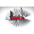 Victorinox Cybertool 34 Swiss Army Knife, Ruby Red Translucent - 1.7725.T