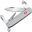 Victorinox Electrician Swiss Army Pocket Knife, Silver Alox - 0.8120.26