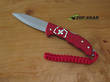 Victorinox Hunter Pro Alox Red Swiss Army Knife, Red Alox Handle - 0.9415.20