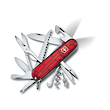Victorinox Huntsman Lite Swiss Army Knife, Ruby Red - 1.7915.T