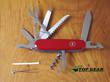 Victorinox Ranger Swiss Army Pocket Knife, Red - 1.3763.71