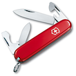 Victorinox Recruit Swiss Army Knife, Red - 0.2503
