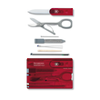Victorinox SwissCard Classic Credit Card Tool, Ruby Red - 0.7100.T