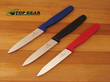 Victorinox Vegetable Knife with Pointed Tip 10 cm - 5.0701 Red, 5.0703 Black, 5.0702 Blue