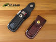 Victorinox Leather Zermatt Pouch with Sharpening Steel for Swiss Army Knife - Medium