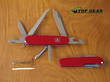 Victorinox Hiker Swiss Army Pocket Knife with Red Handle - 1.4613