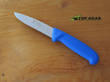 Victory Hunter's Drop-Point Hunting Knife, Blue Handle - 3/303/10/200