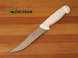 Victory Outdoor Knife with High Carbon Steel Blade, White Handle - 1/302/15/114