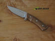 Viper Gianghi Hunting Knife, Bohler N690 Stainless Steel, Olive Wood Handle - V4880BC