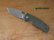 Viper Kyomi Pocket Knife, Bohler N690 Stainless Steel, Titanium - Green G10 Handle - V5940GG