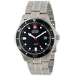 Wenger Swiss Military Alpine Diver Watch, Black Dial - 70996