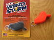 All Weather Wind Storm Safety Whistle - AW5BK Black or AW5OR Orange