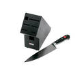 Wusthof Classic 8 Inch Cooks Knife with Knife Block, Black Beechwood - 9838-99