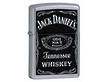 Zippo Lighter Jack Daniels Label Black - Model 24779