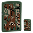 Zippo Camouflage Windproof Lighter - Green Matte 28330