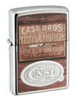 Zippo Case Brothers Windproof Lighter, High Polished Chrome - 50160