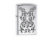 Zippo Dice WIndproof Lighter; Polished Chrome - 24483