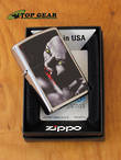 Zippo Dracula 3 Windproof Lighter, Brushed Chrome - 200 BS