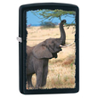 Zippo Elephant Windproof Lighter - Black Matte 28666