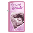 Zippo Elvis Love me Tender Windproof Lighter - 28481
