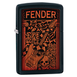 Zippo Fender Guitar Windproof Lighter - Black 28733