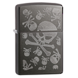 Zippo Iced Skulls Windproof Lighter - 28685