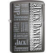 Zippo Jack Daniels Windproof Lighter, Grey Dusk - 28577