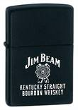 Zippo Jim Beam Kentucky Straight Lighter - Black 28072