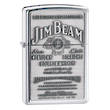 Zippo Jim Beam Bourbon Pewter Emblem Windproof Lighter - 250JB