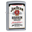 Zippo Jim Beam White Label Windproof Lighter - 28419