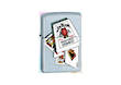 Zippo Lighter Jim Beam Cards Windproof Lighter - Model 20755