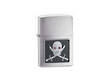 Zippo Lighter Piercing Eye Pirate Windproof Lighter;  Brushed Chrome - Model 20881