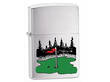 Zippo SV Golf Windproof Lighter, Brushed  - 24495