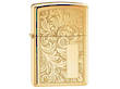 Zippo Venetian Brass Windproof Lighter - 352B